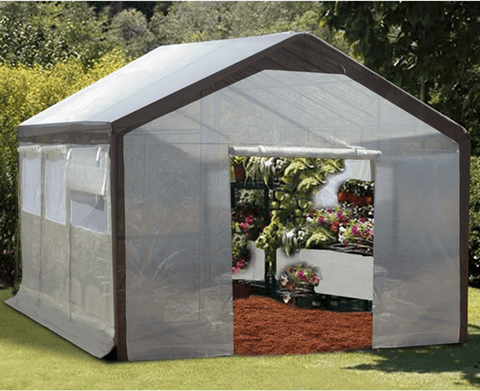 Image of Spring Gardener 6' x 8' Gable Greenhouse