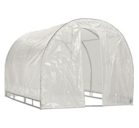Weatherguard 8' x 8' Round Top Greenhouse