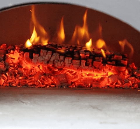 Image of Chicago Brick Oven CBO-750 Mobile - Silver Vein coloring