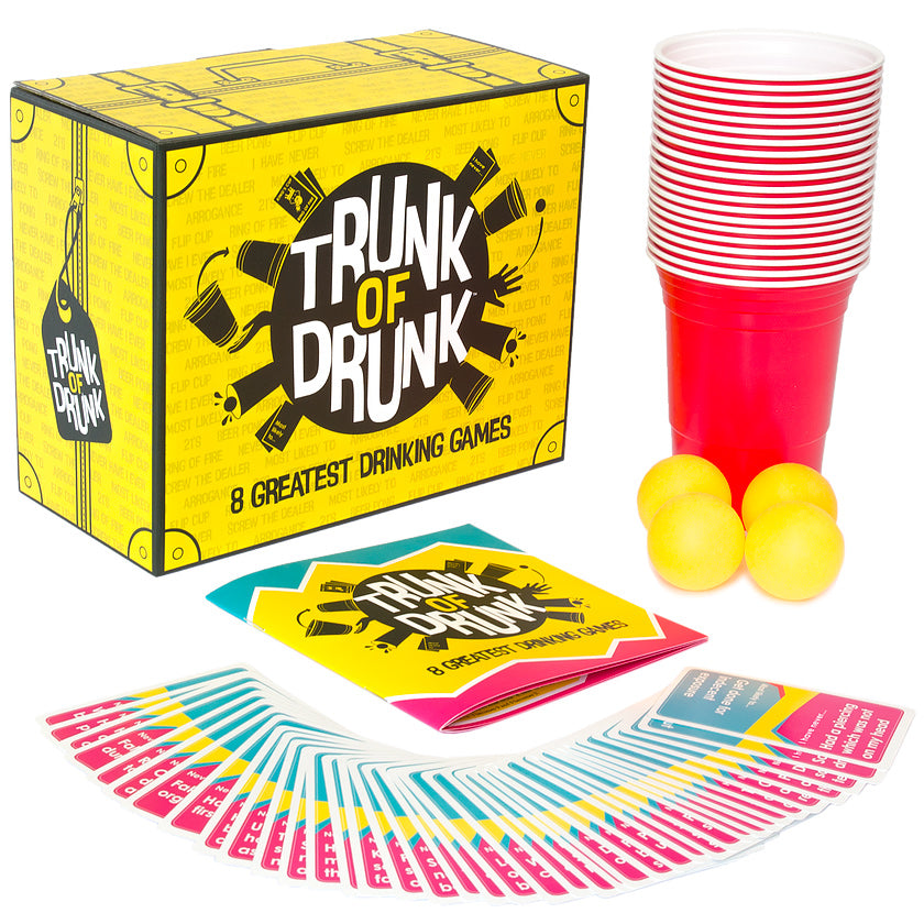 Trunk of Drunk 8 Greatest Drinking Games