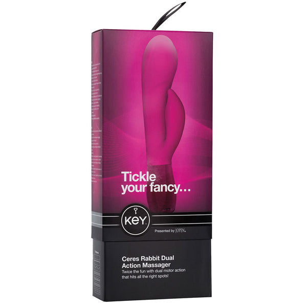 Jopen Key Ceres Rabbit Vibrator
