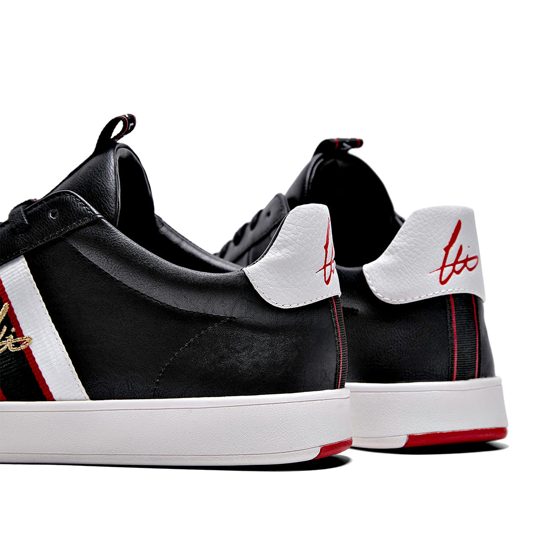Legit Cup Webbing  Trainer - Black / White / Red