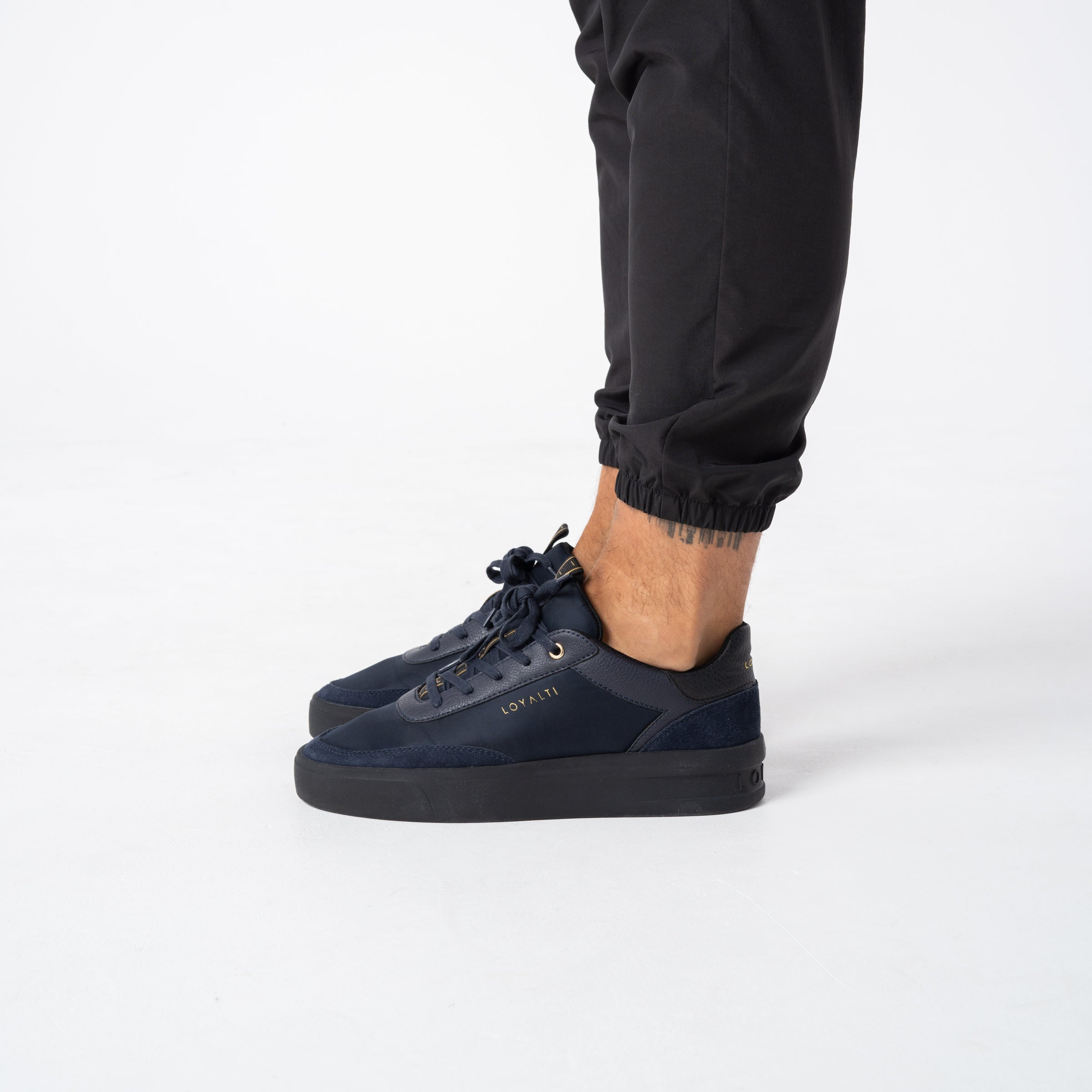 Deuces Trainer - Navy / Black