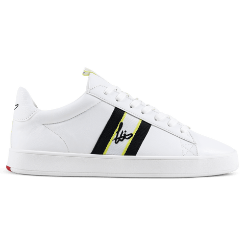Legit Cup Webbing Trainer - White / Lime / Black