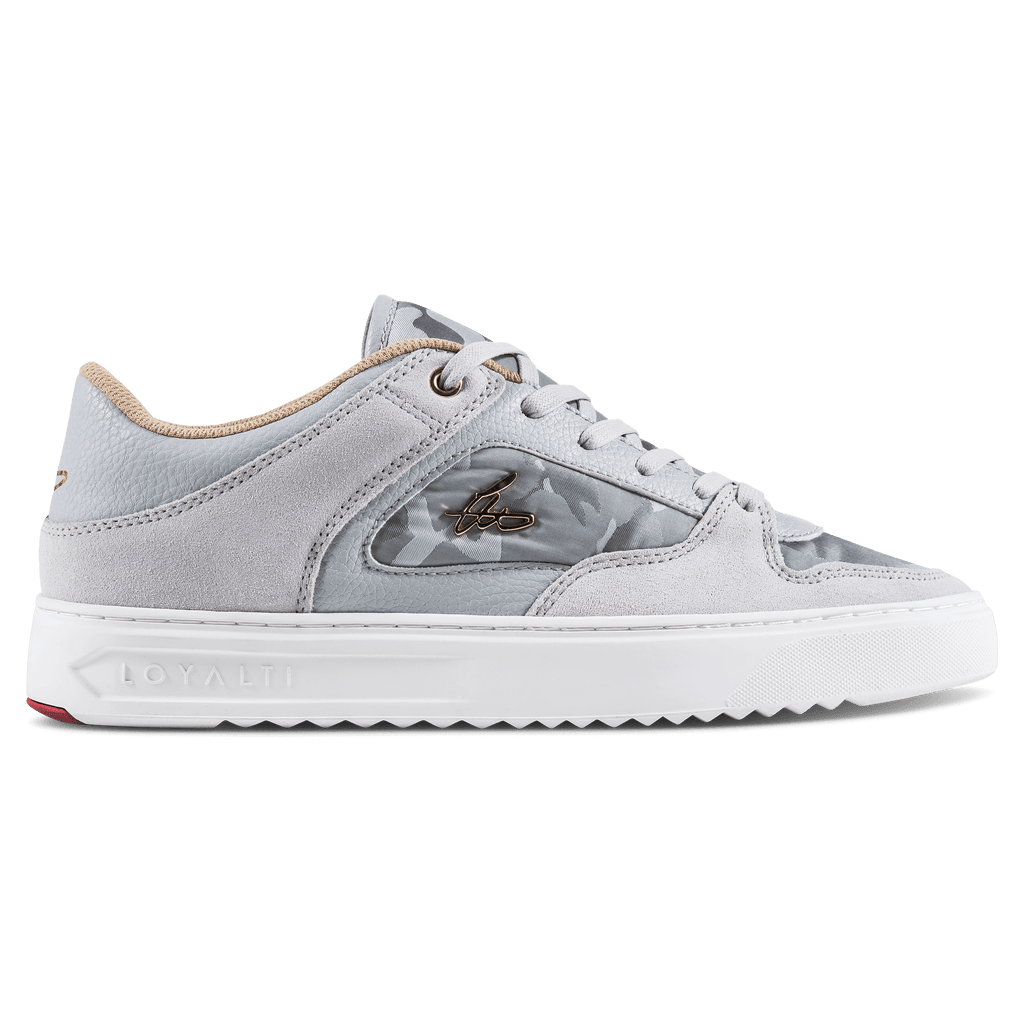 Devotion Trainer - Light Grey / Tan / White