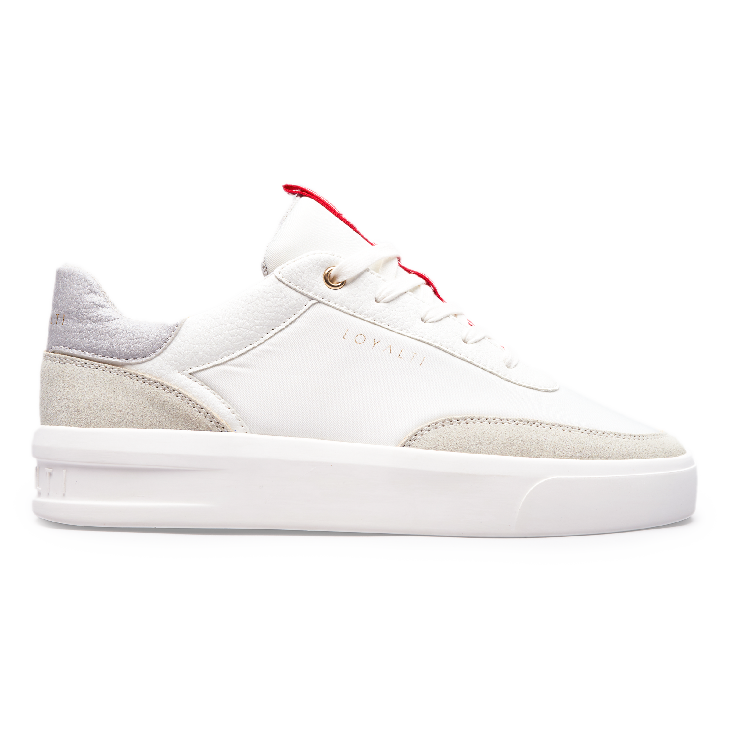 Deuces Trainer - White / Light Grey