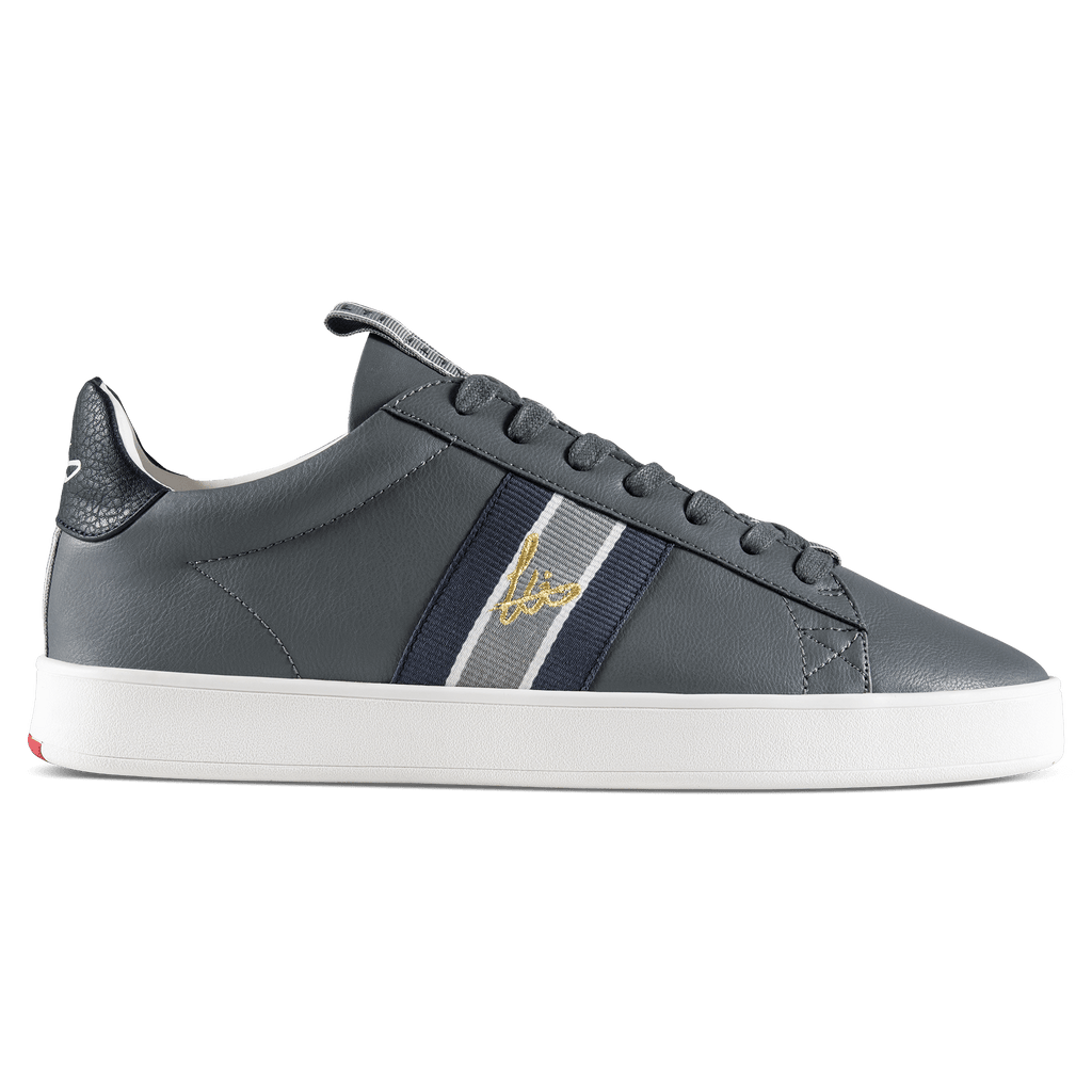 Legit Cup Webbing Trainer - Grey / Navy / White