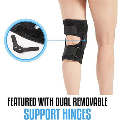 Hinged Knee Brace Support for ACL MCL Tear Arthritis Patella Stabilizer