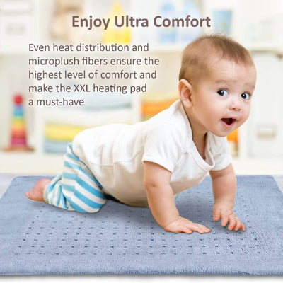 Therapeutic Electric Heated Pad, Full Body Heating Pad For Pain Relief