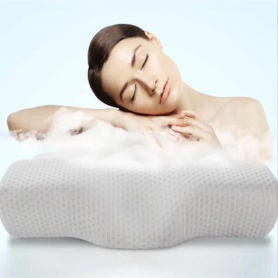 SleepWellness™ Contoured Cervical Orthopedic Pillow