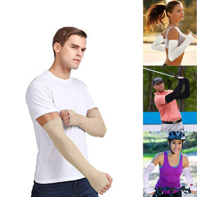UV Protection Sun Sleeves, Cooling Arm Sleeves For Sun Protection