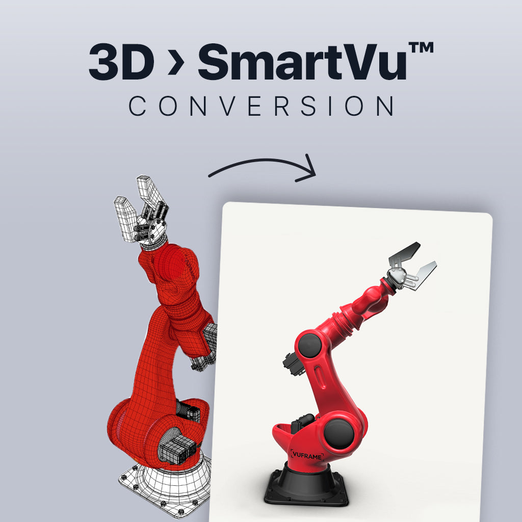 3D File to SmartVu™ Conversion