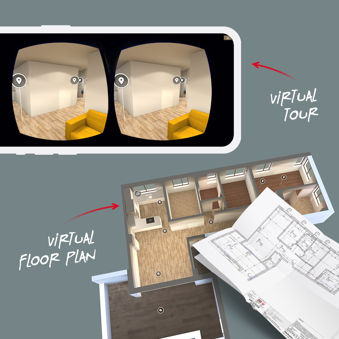 "EXPO REAL Package ""Virtual Tour & Floor Plan"": VUFRAME® Studio 12-Month Subscription – 1x SmartVu™ Creation included for FREE"