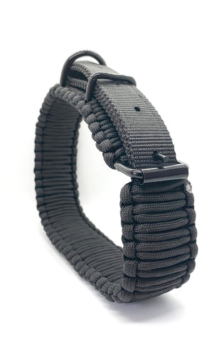 Tactical Paracord K9 Collar