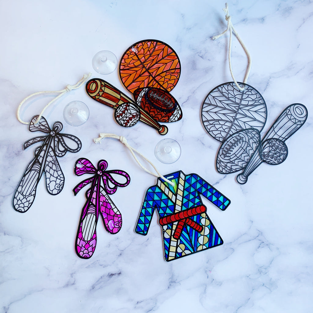 """Surprise"" Suncatchers (set of 3)"