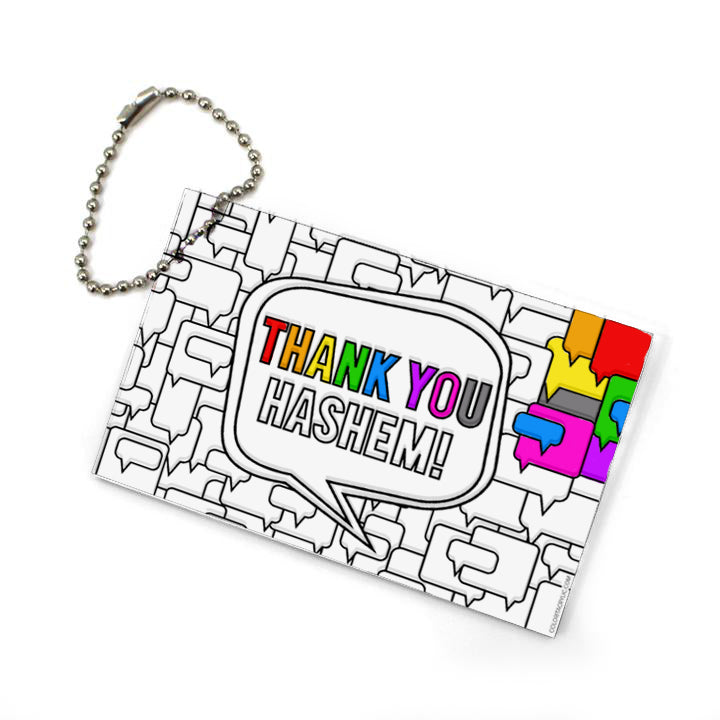 Thank You Hashem Keychain