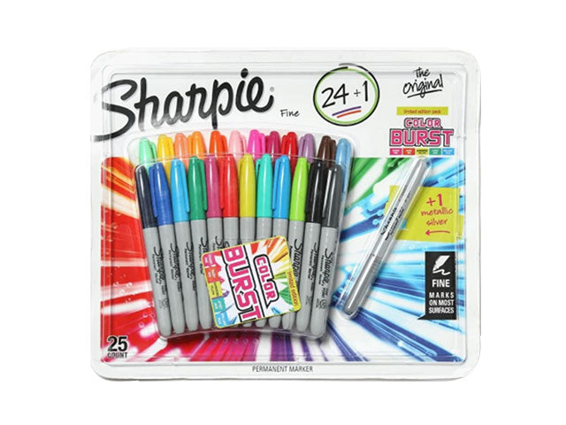 Sharpies - 25 Piece Permanent Marker