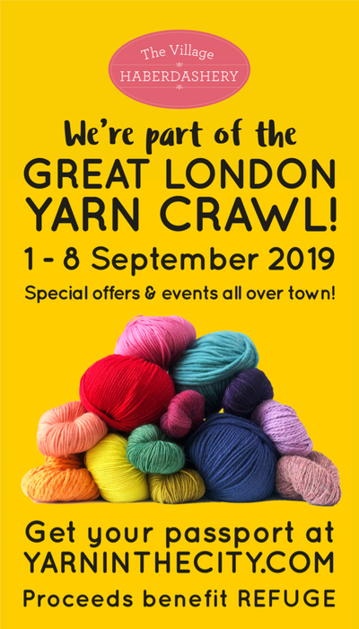 The Great London Yarn Crawl!