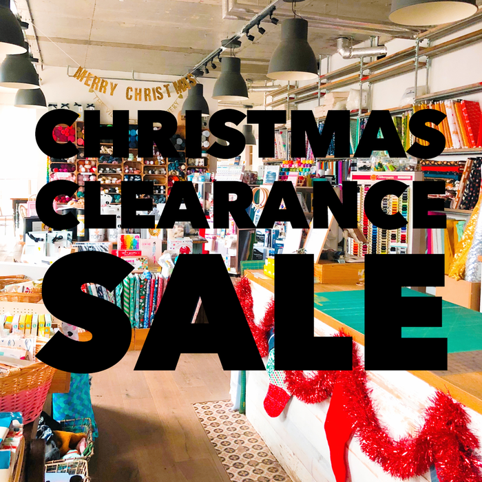 Our Christmas Clearance Sale starts today!