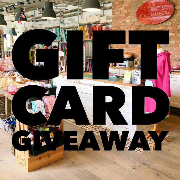 We are giving away Gift Cards in our West Hampstead shop!