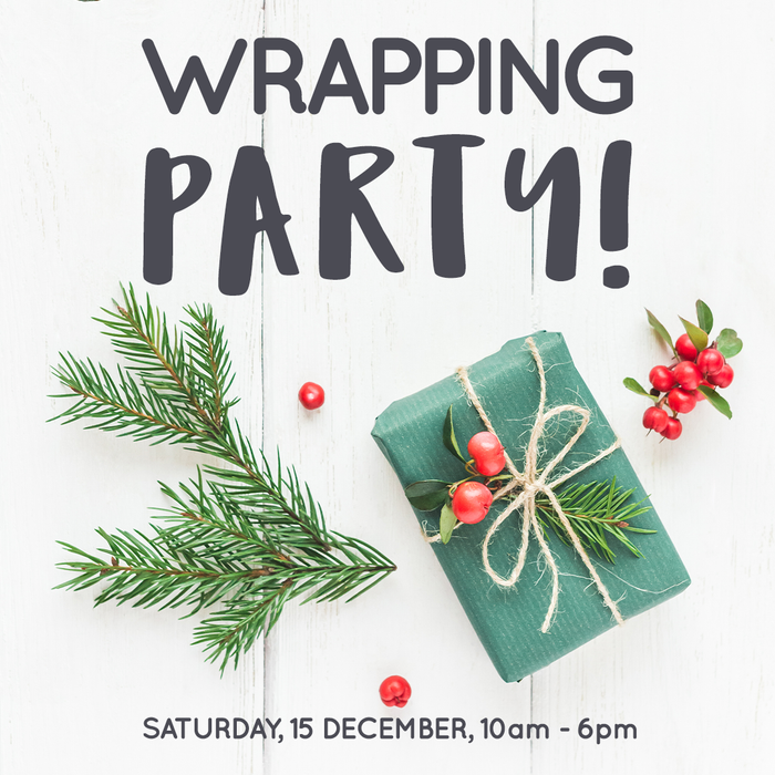Our Wrapping Party is this Saturday! Plus find out more about The Winch charity