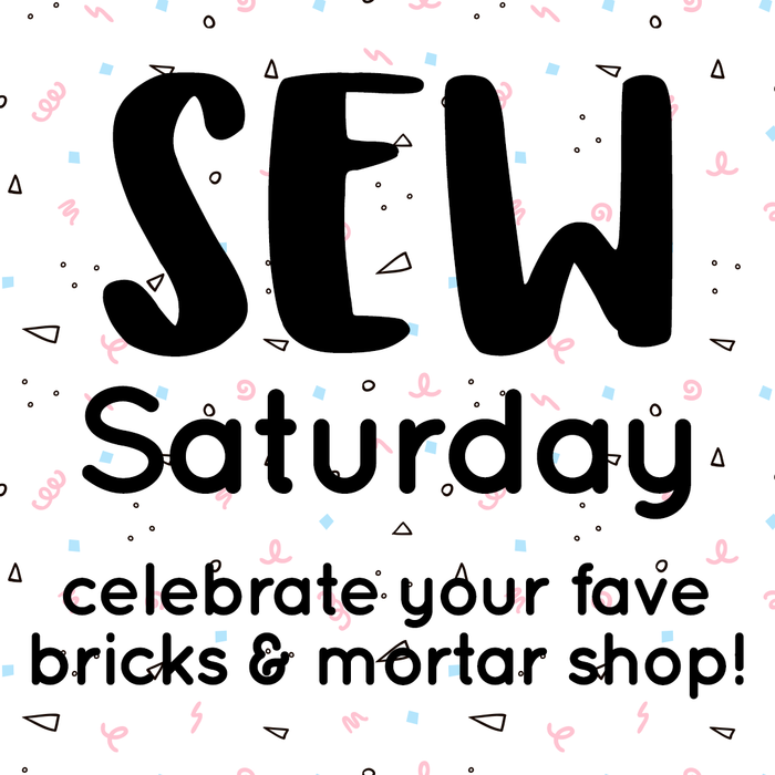 Sew Saturday is THIS SATURDAY! Celebrate at our West Hampstead shop!