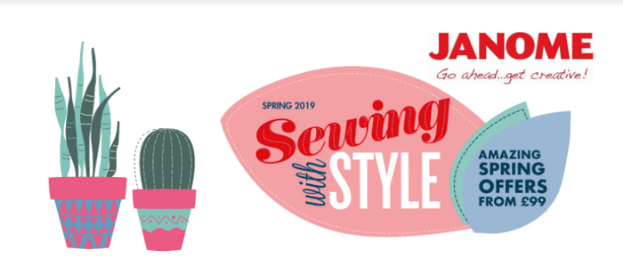 Janome Sewing With Style 2019!