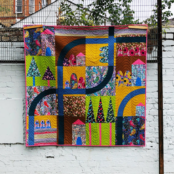 Savernake Road by Monika Forsberg Quilt