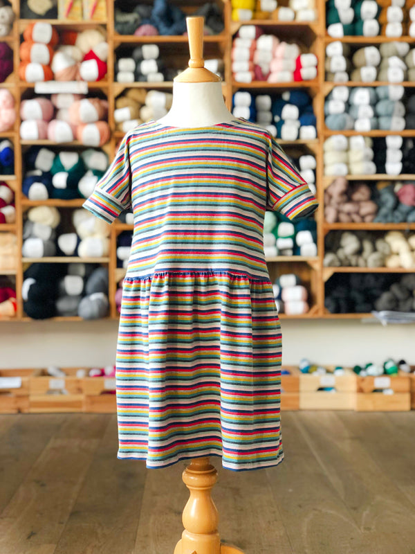 Multicolour Striped Two Stitches Molly Dress