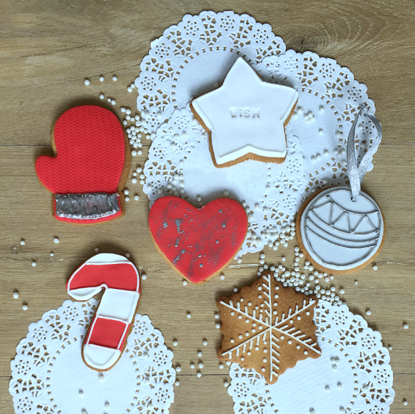 Christmas Iced Biscuits