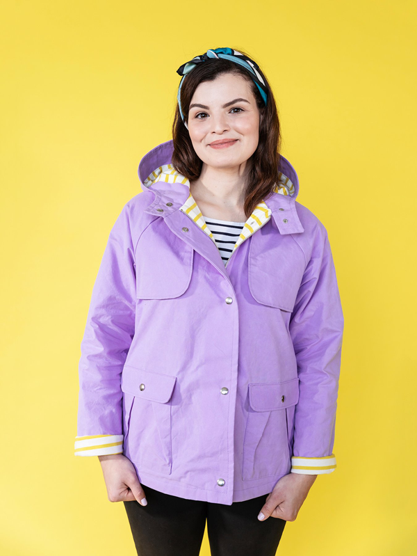 Tilly and the Buttons Eden Raincoat