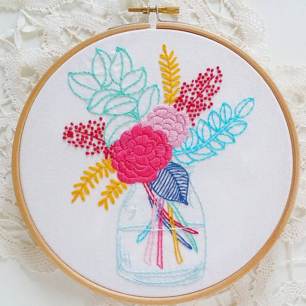 Embroidery 101 Class