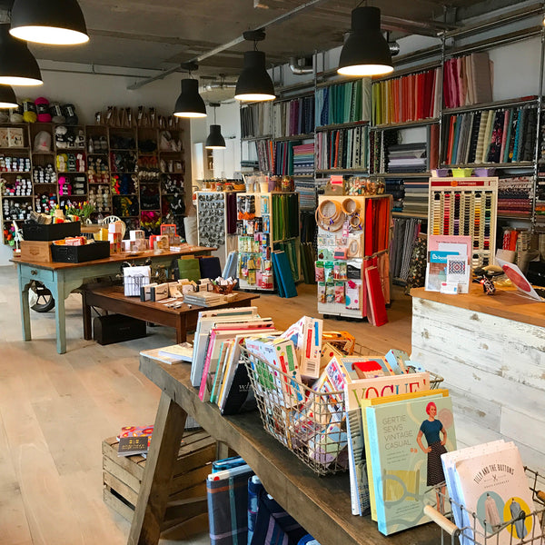 The Village Haberdashery in West Hampstead