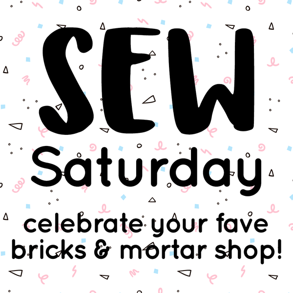 Sew Saturday at The Village Haberdashery in West Hampstead