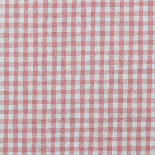 "3/8"" Rose Woven Cotton Gingham - The Village Haberdashery"