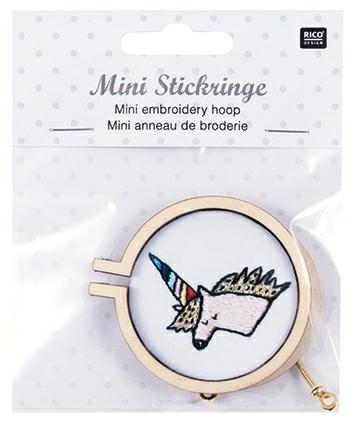 Mini Embroidery Hoop - The Village Haberdashery