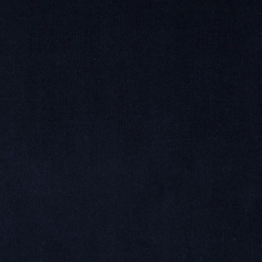 Dark Navy 21 Wale Cotton Needlecord - The Village Haberdashery