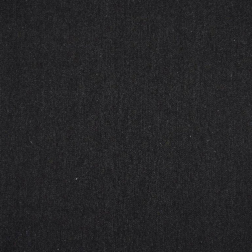 Black 10oz Non-Stretch Cotton Denim - The Village Haberdashery