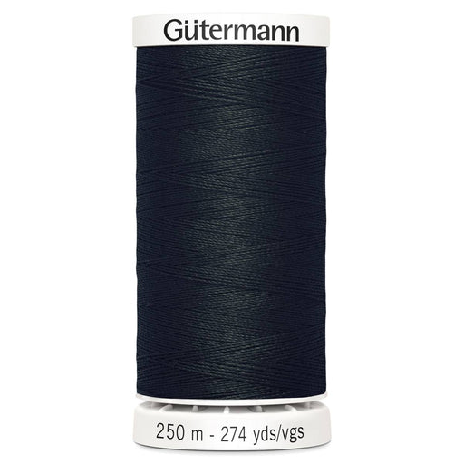 Gutermann Sew-All Polyester Thread - 250m - BLACK - The Village Haberdashery