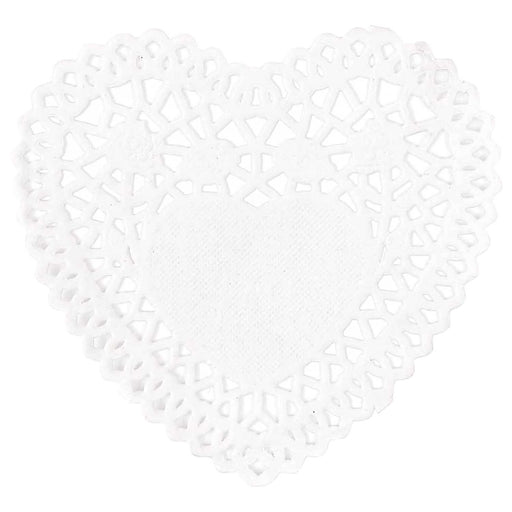 Lace Paper Hearts - Small - The Village Haberdashery