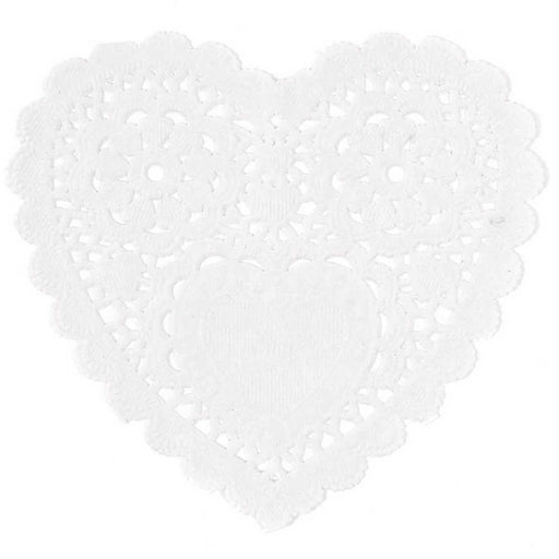 Lace Paper Hearts - Big - The Village Haberdashery