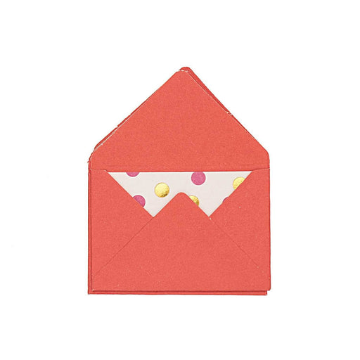 Crafts - Mini Envelopes - Red