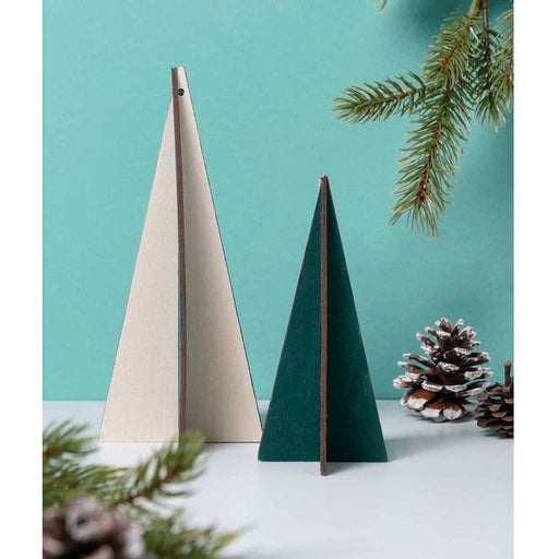 Wooden 3D Fir Tree - The Village Haberdashery