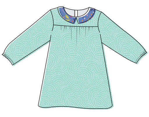 Two Stitches - Edie Blouse & Shirt Dress - PDF - The Village Haberdashery