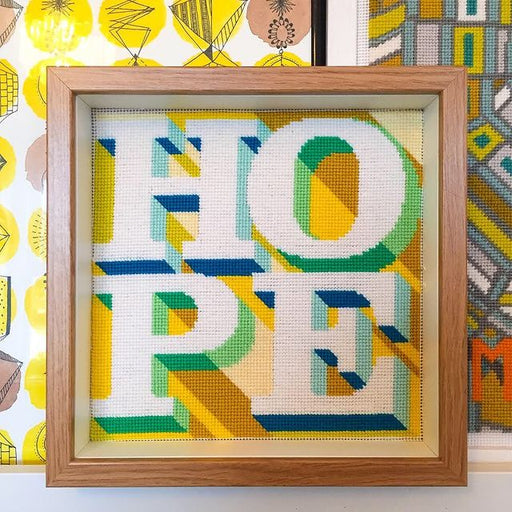Hopeful Hippie Needlepoint Kit by Hannah Bass - The Village Haberdashery