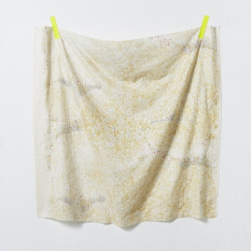 Gold Birds Eye Double Gauze from Nani Iro by Naomi Ito - The Village Haberdashery