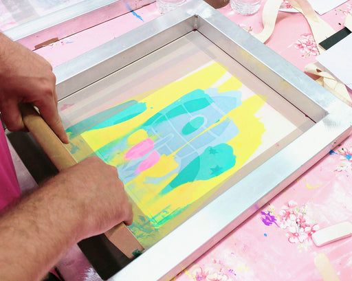 Textile Screen Printing with Kre8ive Shack - The Village Haberdashery