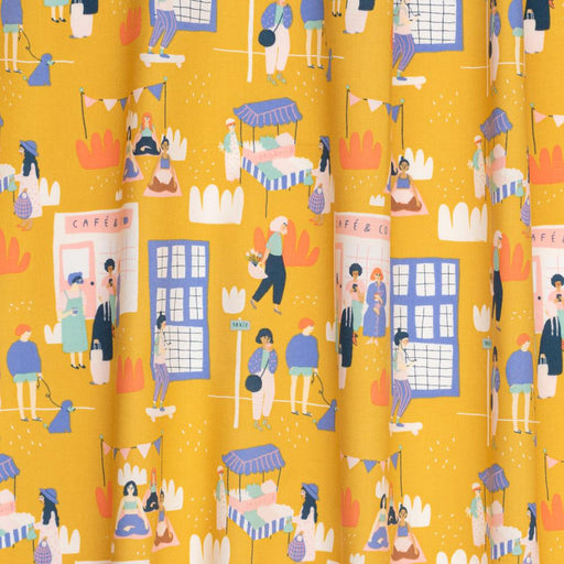 Mustard Millennial Girls Organic Cotton from Millennial Girls by Jennifer Bouron - The Village Haberdashery