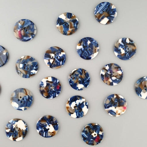 Roswell 25mm Buttons by PigeonWishes - The Village Haberdashery