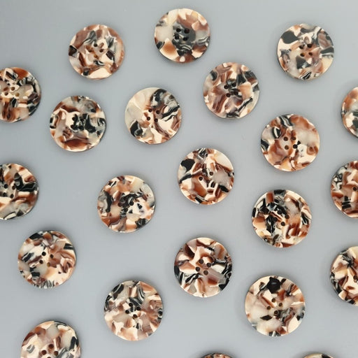 Crystallite 25mm Buttons by PigeonWishes - The Village Haberdashery